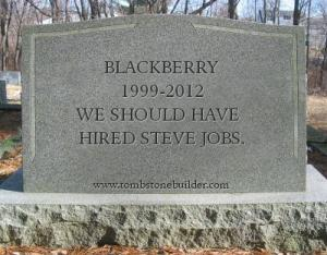 blackberry tombstone